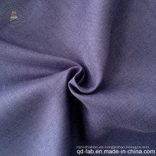 100% tela de lino teñida tela (QF13-0270)