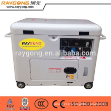 5KW 4-Stroke Air cooled portable generator Silent Diesel generator set price