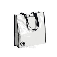 Glossy Laminated Biologisch abbaubare Taschen mit Snap-Fastener (hbnb-525)