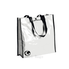 Glossy Laminated Biodegradable Bags with Snap-Fastener (hbnb-525)