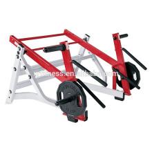 Fitnessgeräte Namen Squat Ausfallschritt / berühmte Hammer Stärke Maschine für kommerzielle Zwecke