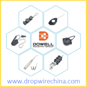 Network and Optic drop wire clamps