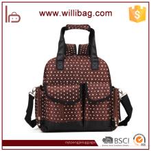 Многофункциональный мода Мумия мешок пеленки младенца рюкзак