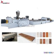 Linha de produção de máquina para placa de porta PVC WPC