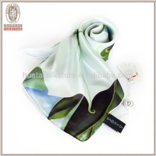 YZNSHH Simple Plain Chinese Painting Flower Scarf
