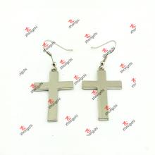 Moda zinco liga brincos de cruz para presentes (ceg51031)