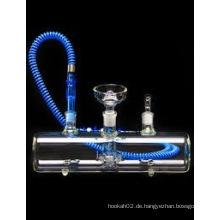 Elektronische Zigaretten-Glas-Huka, neue Design-Shisha-Glas-Huka mit schnellem Versand