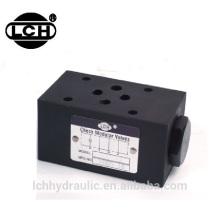 Válvula modular redutora de pressão mecânica grande hidráulica