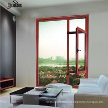 Ближнем Востоке Стандартная твердая древесина/ Вишня дерево алюминиевые окна (фут-W70)