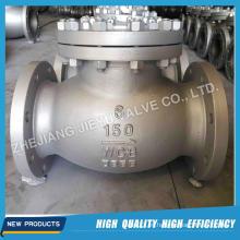 """150lbs-1500lbs 2 """"-24"""" Molde las válvulas de retención del oscilación del acero inoxidable A216 Wcb Wc6 CF8m"""