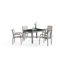 Ensemble de salle à manger en plein air nouveau style Design Textilene