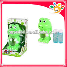 B/O full automation bubble toy electric bubble machine bubble gun frog with two bottles bubble water
