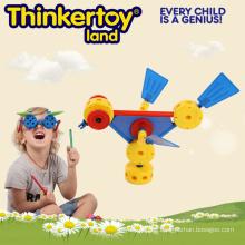 Kinder interessante pädagogische Tier Spielzeug Plasitischen Vogel