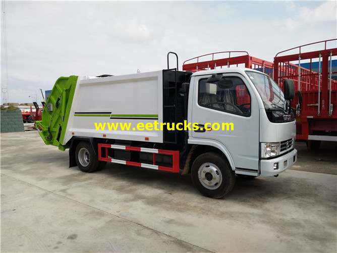 6000l Compress Refuse Trucks