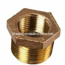 Латунь/Бронза/медные фитинги и втулки CNC подвергая механической обработке