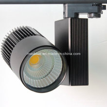 4wire 3 Phase Standard Européen 45W COB LED Track Light