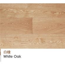 Pisos brancos norte-americanos originais projetados e laminat do carvalho puro puro