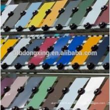 3003 Bobina de aluminio de la pintura del color para la hoja del material para techos