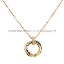 Nouveau produit chaud pour 2014 collier en acier inoxydable