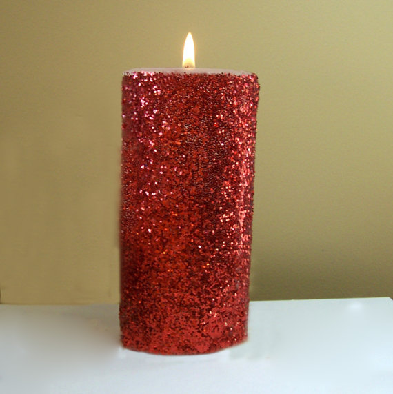Wholesale Metal Paint Column Wax Aromatherapy Candle 1