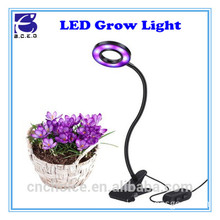 Aluminium Alloy 10W red/blue adjustable led plant grow lamp for organic organizer