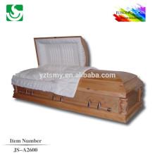 hardwood best selling wooden coffin casket