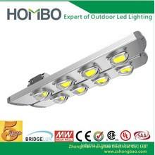 Hombo haute qualité conduit lumière de rue 180w ~ 240w super brillant COB conduit lampe extérieure étanche 5 ans garantie lumière de route