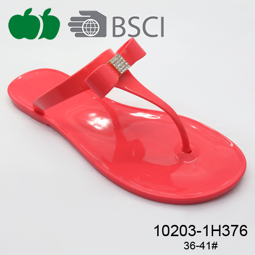 fashion lady pvc jelly slipper