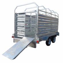 10 х 5 Ферма Trialer ног применяется скота разведение овец, перевозивший прицеп с двойной осью
