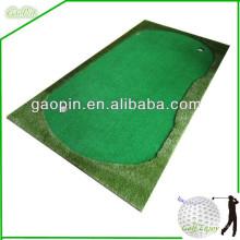 Buena calidad mini golf putting green carprts para interiores al aire libre