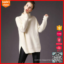 New cashmere jumpers solid color blended cashmere sweater women