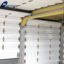 enrollar la puerta del obturador para camiones refrigerados