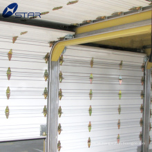 Enrole a porta do obturador para caminhões refrigerados