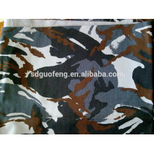 100% tecido de algodão camuflagem digital impresso tecido rib-stop
