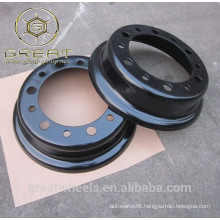 China supplier Split rim 5.00F-10 forklift wheels