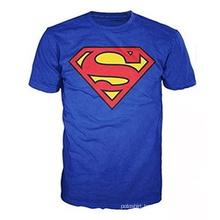 100%Cotton Superman Classic Logo Men′s T-Shirt