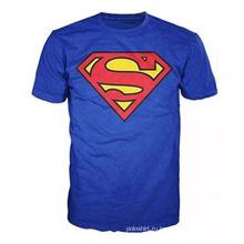 100%хлопок Супермен классический логотип Мужская футболка