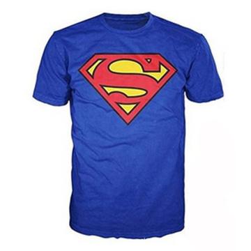 100% coton Superman Classic Logo Tee shirt Homme