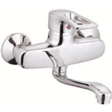 Mezclador de lavabo de pared con una sola manija (JN80011)