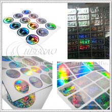 Изготовленный на заказ стикер hologram (кг ST004)