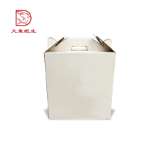 Custom printed factory direct recyclable corrugated carton cardboard box