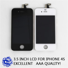 2016 de alta calidad para iPhone 4S LCD con pantalla táctil completa