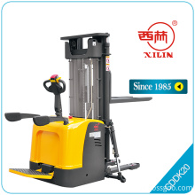 Good Quality for Full-Electric Platform Stacker Truck,Full Electric Stacker With Platform,Full Electric Stacker Truck Manufacturers and Suppliers in China Xilin CDDK20 heavy duty rider electric stacker export to Singapore Suppliers