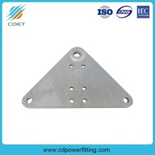 OEM for Mid Span Joint Hot dip Galvanized L Type Yoke Plates export to Panama Wholesale