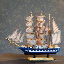 juguetes barcos de madera arte de madera decoración del barco