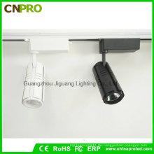 Heißer Verkauf COB Weiß / Schwarz 15W LED Track Light