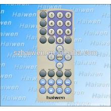 diy Waterproof/UV resistance Screen Printing PET membrane keypad panel, custom plano convex lens nameplate