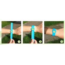Adjustable 100% Citronella Silicon Mosquito Repellent Band