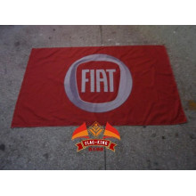 Fiat Autofahne 100% Polyester 90*150 CM Fahne Fiat Banner