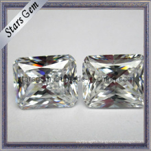 Rectangle Shape Octagon Princess Cut Zirconia Synthetic Gems